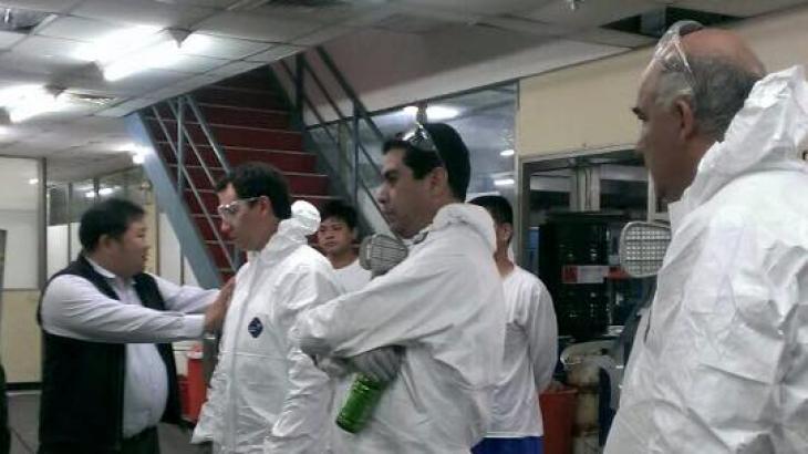 Pentens Polyurea Spray Training Course